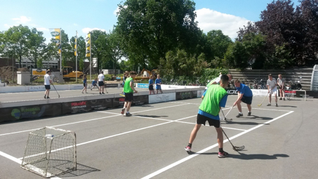 Floorball als straatsport