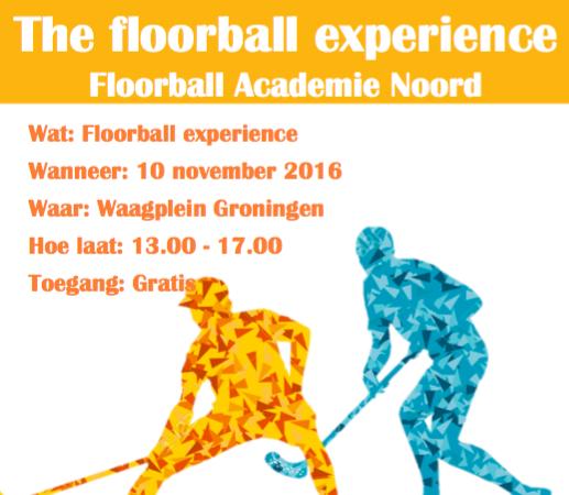 Floorball Academie Noord naar Let's Gro