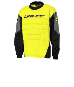 12394 Goalie sweater Blocker neon yellow
