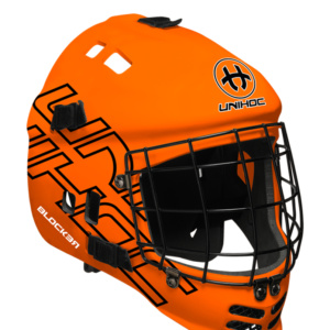 12572 Mask Unihoc Blocker neon orange-black